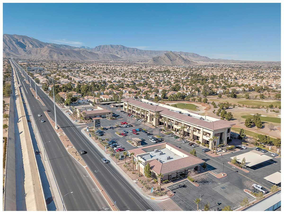 Commercial drone photographer in Las Vegas.