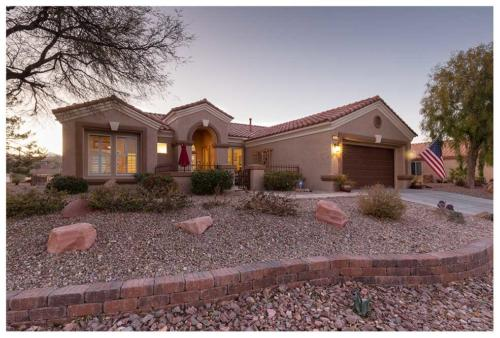 Twilight photography for real estate in Las Vegas.