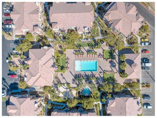 Commercial aerial drone photography in Las Vegas.